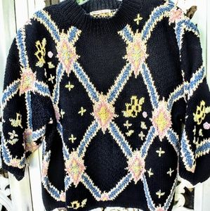 80S hand knit sweater, LIMITED